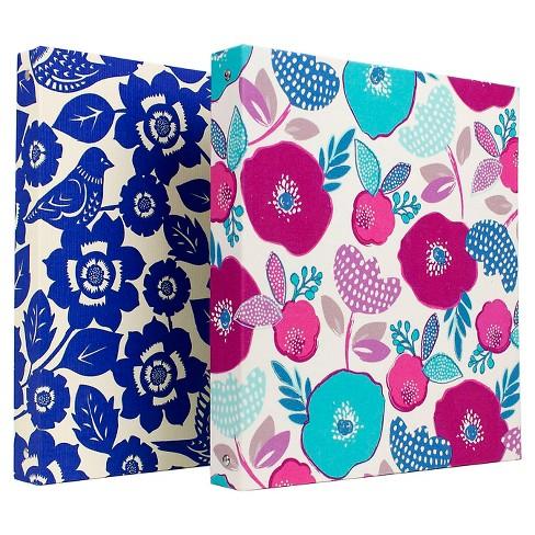 1 3 ring binder floral greenroom target