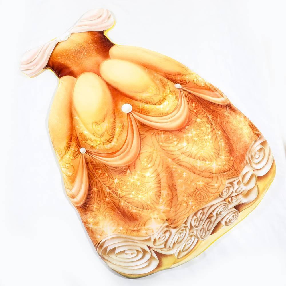 Image of Disney Belle Blanket Yellow