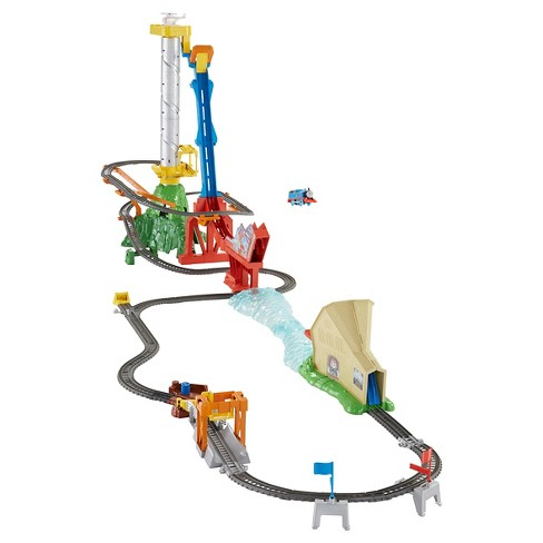 Fisher-Price Thomas and Friends TrackMaster Thomas' Sky-High Bridge Jump Playset - image 1 of 9