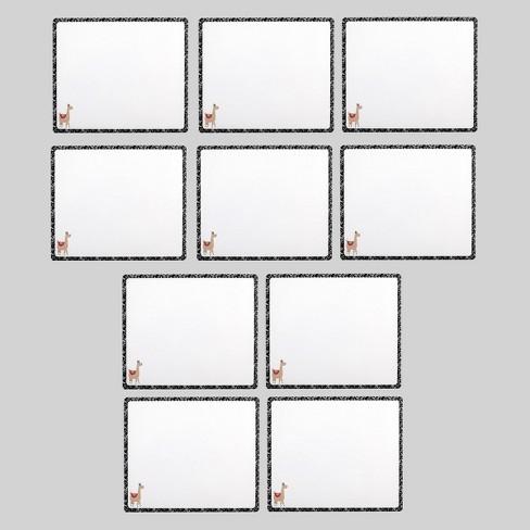10pk Llama Dry Erase Boards - Bullseye's Playground™ - image 1 of 3