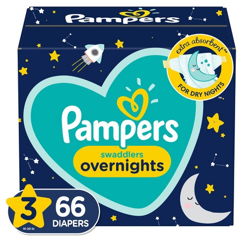 Pampers Swaddlers Overnight Diapers - (Select Size and Count) - image 1 of 4