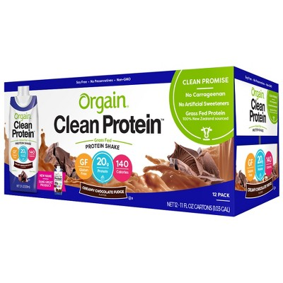 Protein & Meal Replacement: Orgain Clean Protein Shake