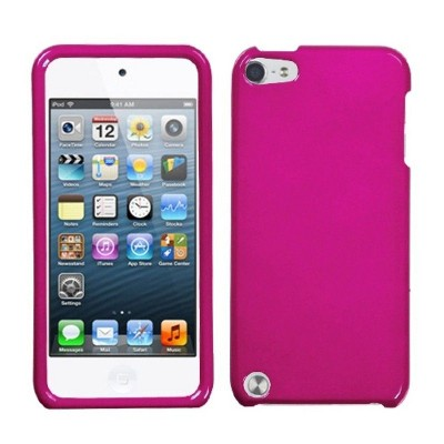 MYBAT For Apple iPod Touch 5th Gen/6th Gen Hot Pink Hard Case Cover