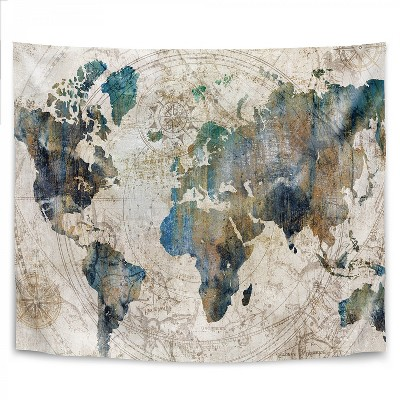 Americanflat Celestial Map by PI Creative Art Wall Tapestry