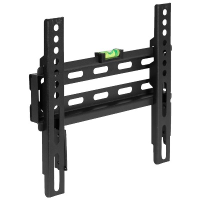 """Flash Furniture FLASH MOUNT Fixed TV Wall Mount with Built-In Level - Magnetic Quick Release Pendants - Fits most TV's 17""""-42"""", 32""""-84"""""""
