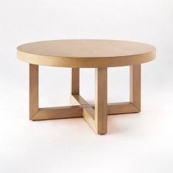 Rose Park Round Wood Coffee Table - Threshold™ designed with Studio McGee