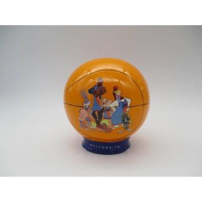 Space Jam Basketball Ceramic Bank