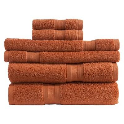 Micro Cotton® Aertex 6-pc. Towel Set - Paprika