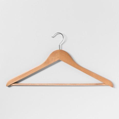 24-Pack Wood Hanger - Light Maple - Threshold™ - image 1 of 2