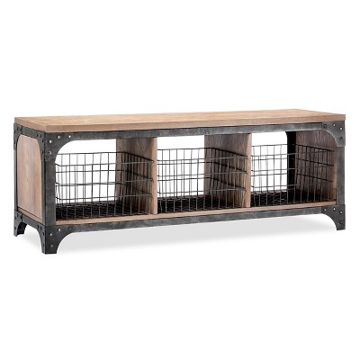 Ordinaire Franklin Entryway Bench With Baskets : Target