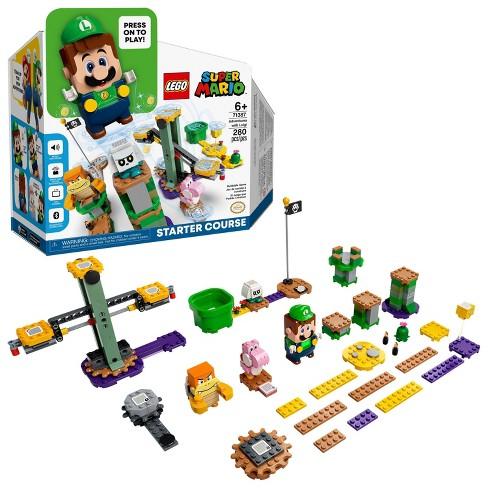 LEGO Super Mario Adventures with Luigi Starter Course 71387 Building Kit - image 1 of 4