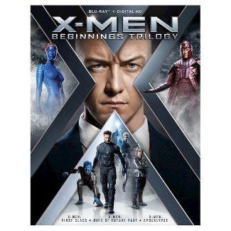 X-Men Beginnings Trilogy (Blu-ray)