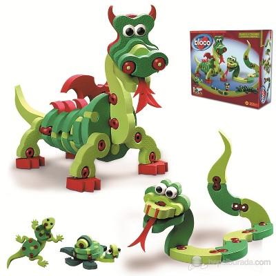 Bloco 235 Piece Construction Set | Dragons & Reptiles