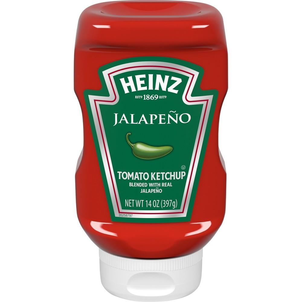 Heinz Jalapeno Tomato Ketchup 14oz