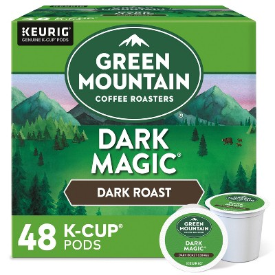 Green Mountain Coffee Dark Magic Keurig K-Cup Coffee Pods - Dark Roast - 48ct