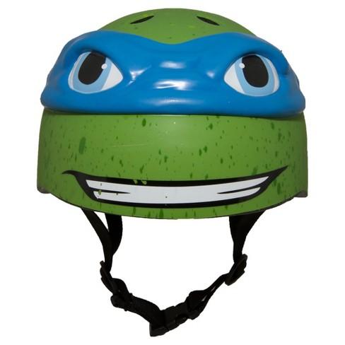 raskullz teenage mutant ninja turtles child helmet leonardo target