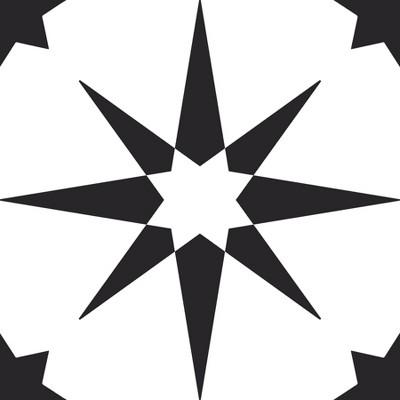 FloorPops Set of 20 Altair Peel & Stick Floor Tiles