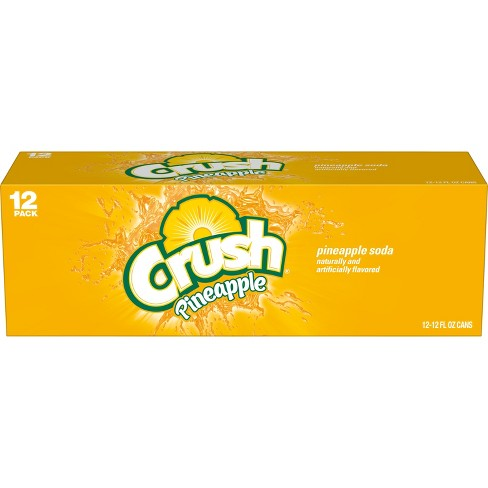 Crush Pineapple Soda - 12pk/12 fl oz Cans - image 1 of 3