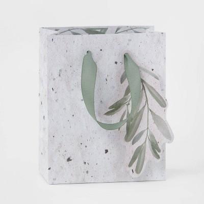 Petite Sprig Gift Bag Cream - Wondershop™