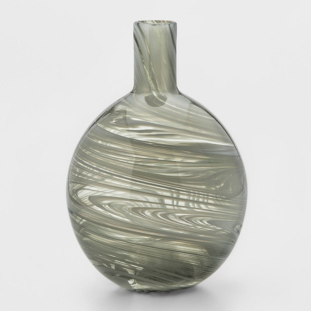 Vase Smoke Marble - Gray - Project 62