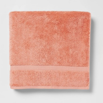 Perfectly Soft Solid Bath Towel Coral - Opalhouse™