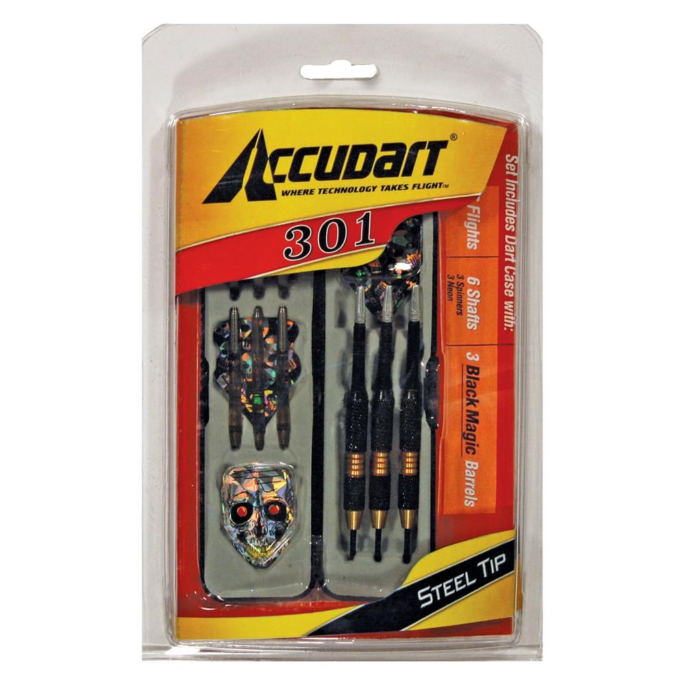 Image of Accudart 301 Steel Tip Dart Set