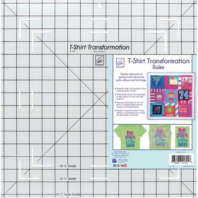 "June Tailor T-Shirt Transformation Ruler-15-1/2""X15-1/2"""