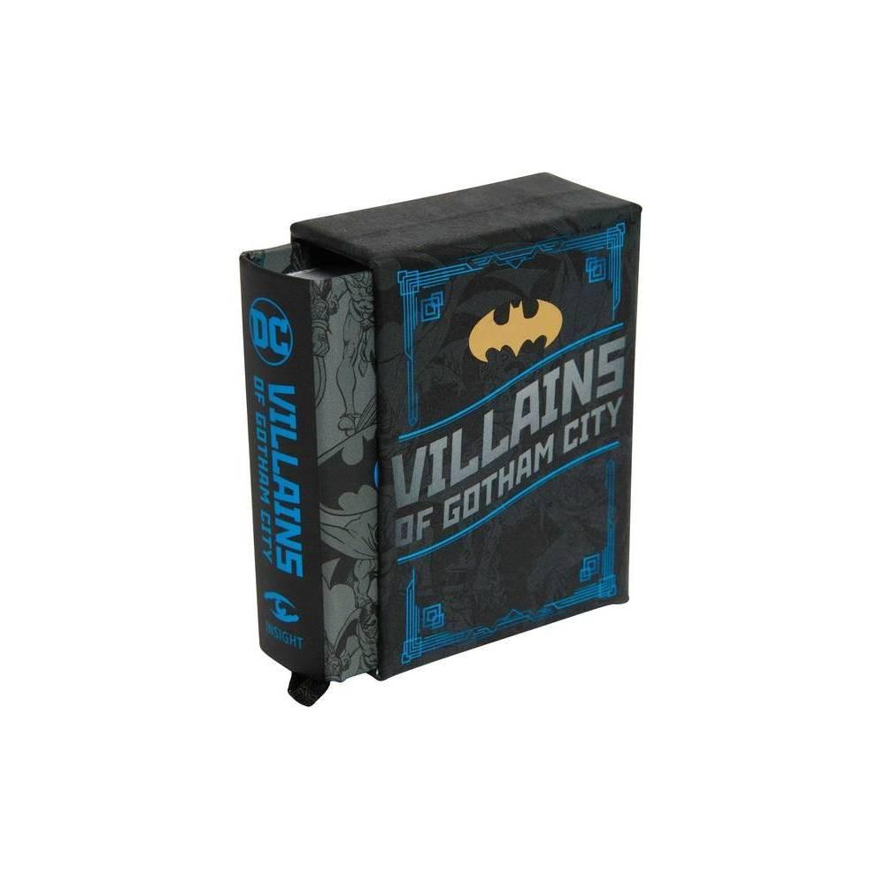 Dc Comics Villains Of Gotham City Tiny Book By Mike Avila Hardcover