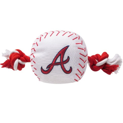 MLB Pets First Nylon Baseball Rope Dog Toy - image 1 of 1