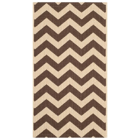 Elvas Patio Rug - Dark Brown - Safavieh® - image 1 of 1