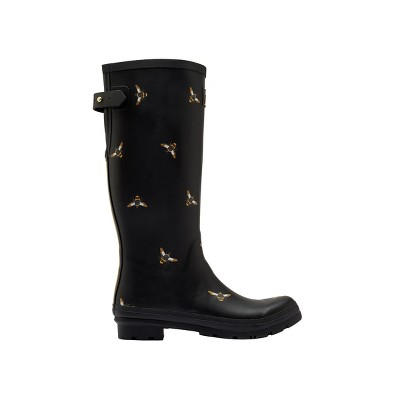 Joules Womens Welly Print With Adjustable Back Gusset