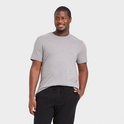 Men's Big & Tall Knit Pajama Set - Goodfellow & Co™ Heather Gray