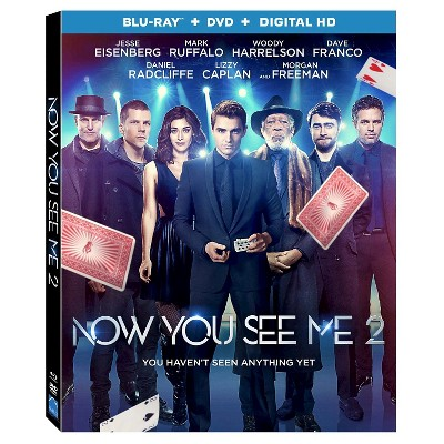 Now You See Me 2 (Blu-ray + DVD + Digital)