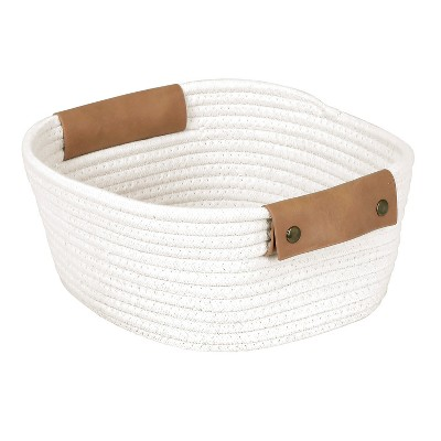 11  Square Base Tapered Basket Small Cream - Threshold™