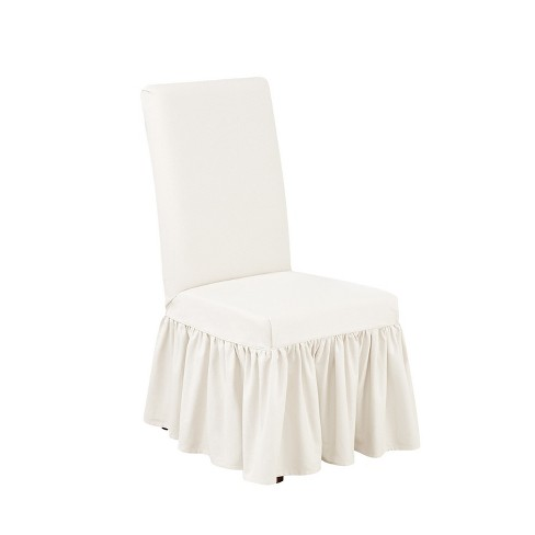 Dining Room Chair Slipcover White
