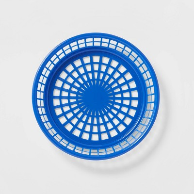 4pk Americana Plastic Food Baskets - Sun Squad™