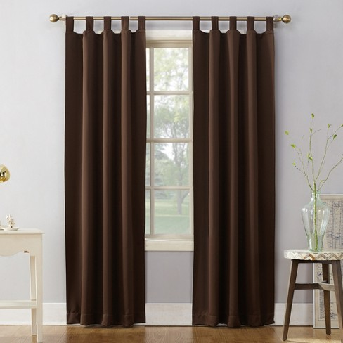 Sun Zero Kenneth Blackout Tab-Top Curtain Panel - image 1 of 3