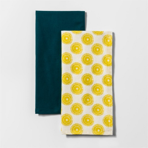 Citrus Pear Medallion Kitchen Towel - Project 62™ - image 1 of 1