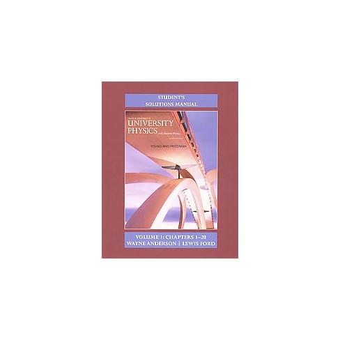 Sears Zemanskys University Physics Chapters 1 20 With Modern