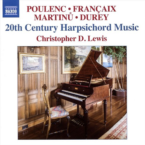 Christopher d lewis - 20th century harpsichord music (CD) - image 1 of 1