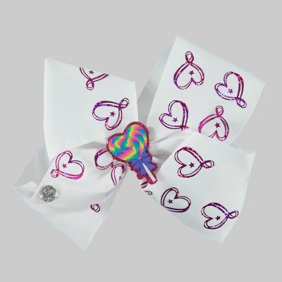 Girls' JoJo Siwa Bow Hair Clip with Holographic Foil