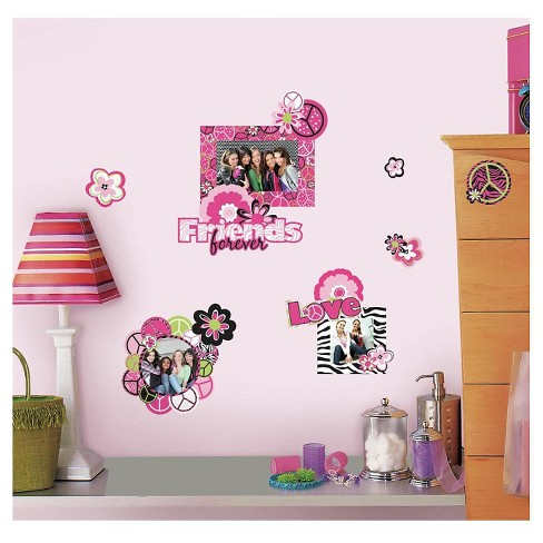 RoomMates Peace Sign Frames Peel and Stick Wall Decals - image 1 of 2