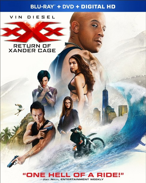 xXx: Return Of Xander Cage (Blu-ray+ DVD + Digital) - image 1 of 1