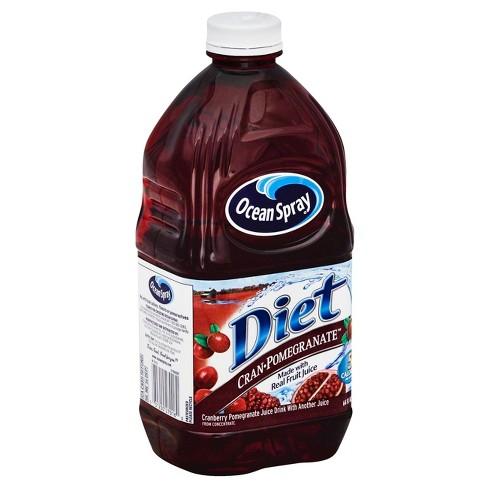 Ocean Spray Diet Cranberry Pomegranate Juice - 64 fl oz Bottle - image 1 of 3