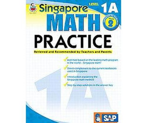 Singapore Math Practice, Level 1A (Workbook) (Paperback) - image 1 of 1