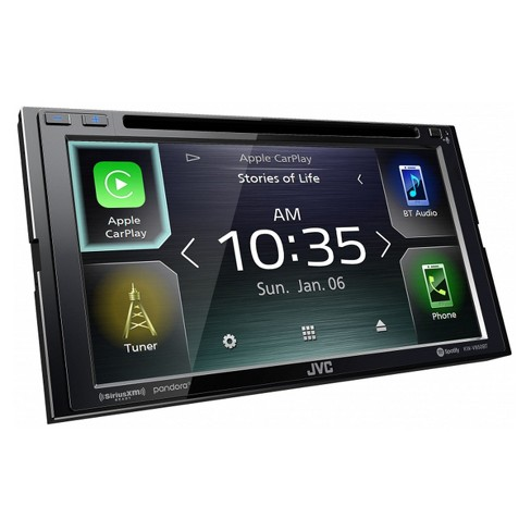 """JVC KW-V850BT 6.8"""" CD/DVD Receiver w/ Apple CarPlay and Android Auto - image 1 of 4"""