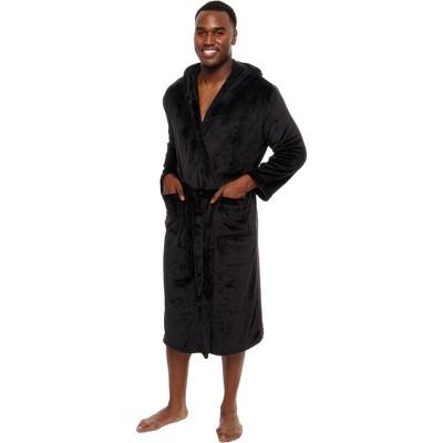 Ross Michaels - Men's Plush Luxury Hooded Bathrobe
