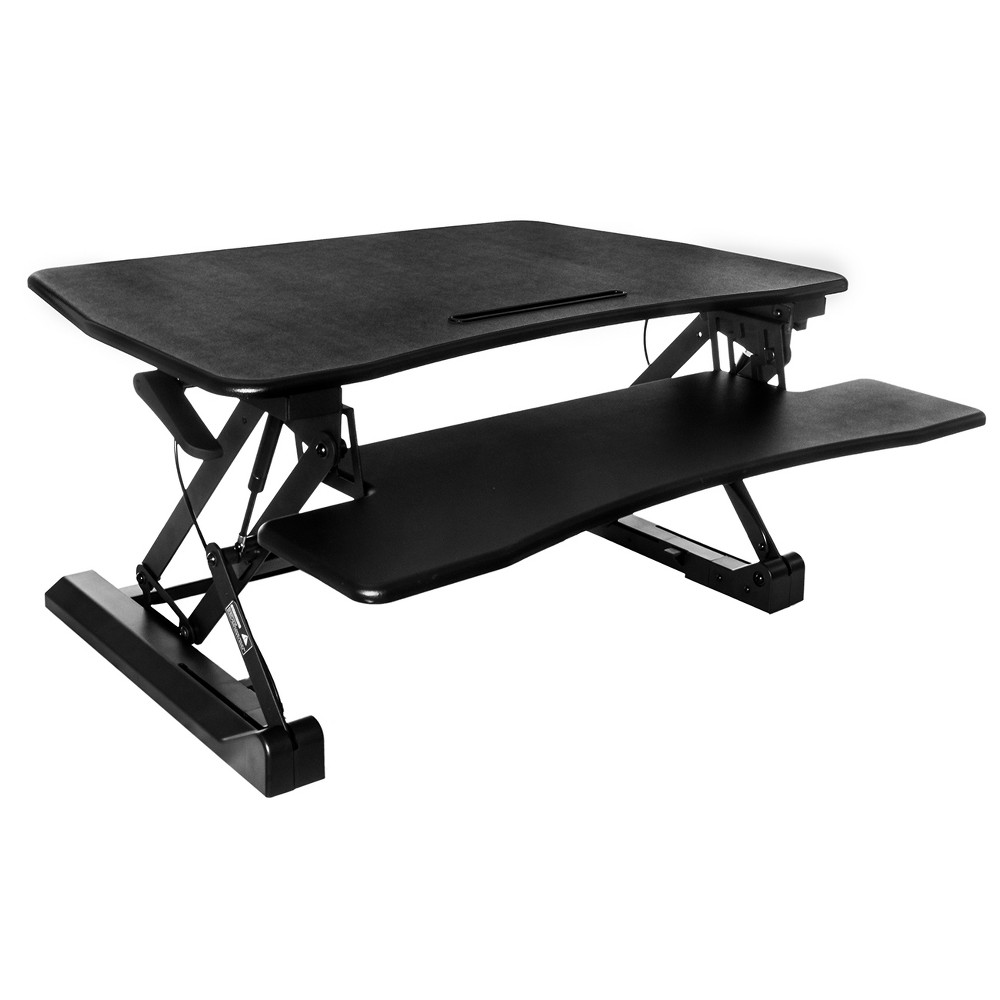 Riser Standing Desk Black - Techni Mobili