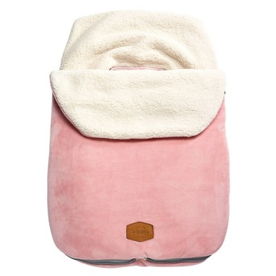 JJ Cole Original Bundle Me Car Seat Accessory - Blush Pink