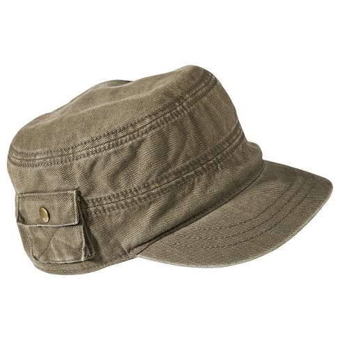 Women's Conductor Hat with Pocket - Olive - Mossimo Supply Co.™ - image 1 of 2